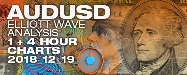 Elliott Wave Forex AUDUSD 19 December 2018