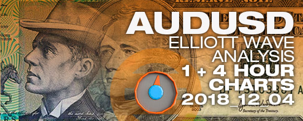 Elliott Wave Forex AUDUSD 4 December 2018