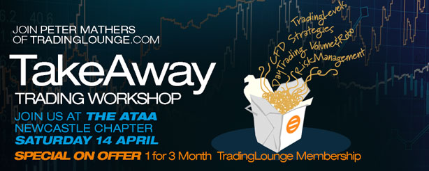 Take Away Trading Workshop - Join Peter Mathers LIVE at the ATAA Newcastle