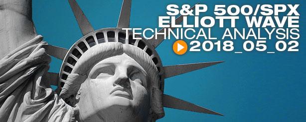 SP500 Elliott Wave Technical Analysis Video 2 May 2018