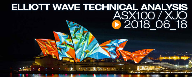 ASX 200 XJO Elliott Wave Analysis 18 June 2018