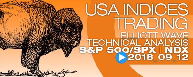 TradingLounge SP500-SPX NASDAQ-NDX Elliott Wave Analysis News 12 September 2018