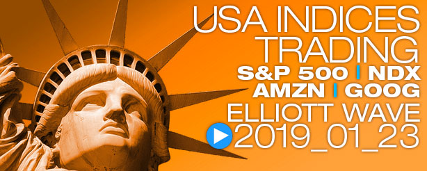 SP500 Elliott Wave 23 January 2019