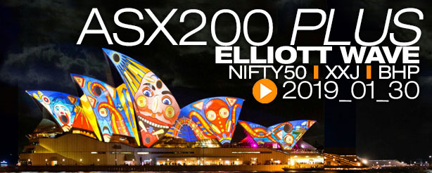 ASX 200 Nifty 50 XJO BHP Elliott Wave