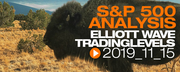 SP500 Elliott Wave 15 November 2019