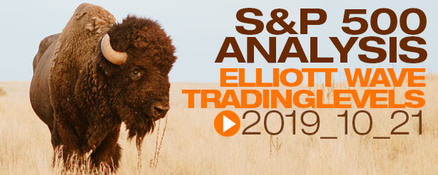 SP500 Elliott Wave 22 November 2019