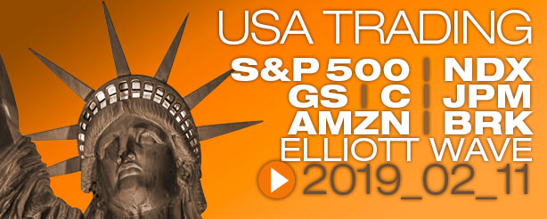SP500 Elliott Wave 11 February 2019