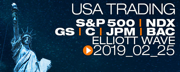 SP500 Technical Analysis Elliott Wave 25 February 2019