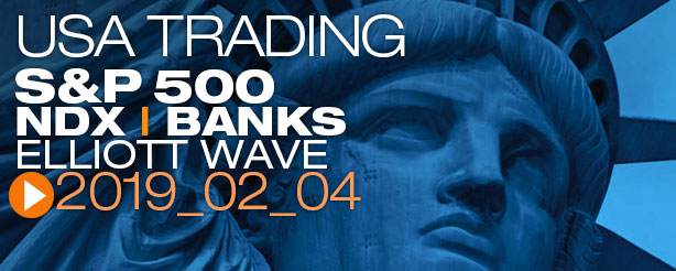 SP500 Elliott Wave 4 February 2019