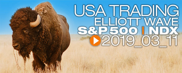 SP500 Technical Analysis Elliott Wave 11 March 2019