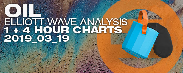 Elliott Wave Crude Oil Futures Options CFDs 19 March 2019