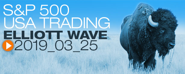 SP500 Technical Analysis Elliott Wave 25 March 2019