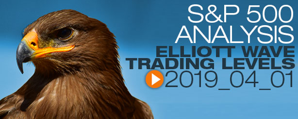 SP500 Technical Analysis Elliott Wave 1 April 2019