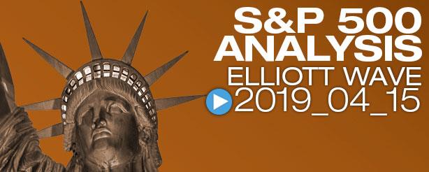 SP500 Elliott Wave 15 April 2019