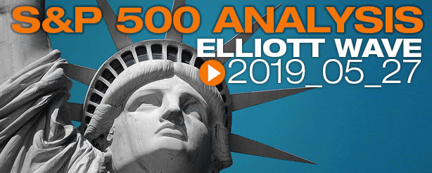 SP500 Elliott Wave 27 May 2019