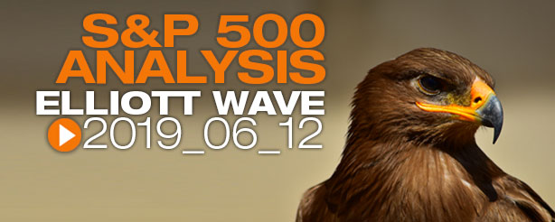 SP500 Elliott Wave 12 June 2019