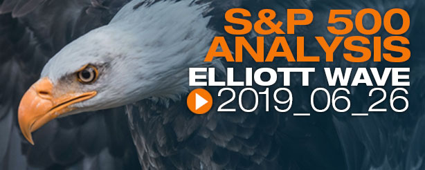 SP500 Elliott Wave 26 June 2019