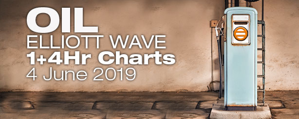 Elliott Wave Crude Oil Futures Options CFDs 4 June 2019