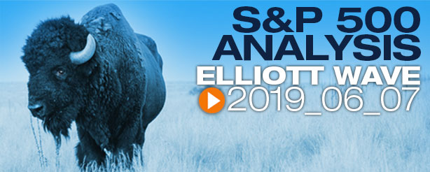 SP500 Elliott Wave 7 June 2019