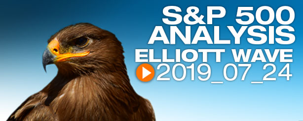 SP500 Elliott Wave 24 July 2019