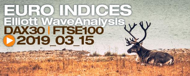 DAX 30 FTSE 100 Technical Analysis Elliott Wave 27 Sept 2019