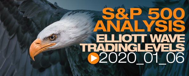 SP500 Elliott Wave 6 January 2020