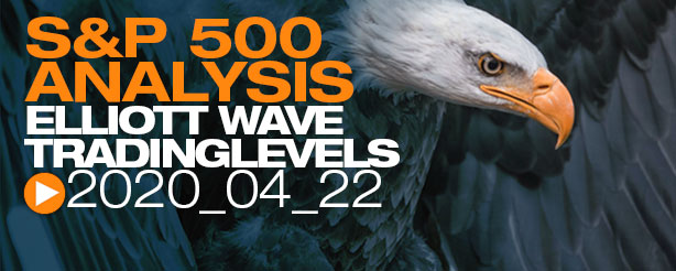 SP500 Elliott Wave Day Trading 22 April 2020