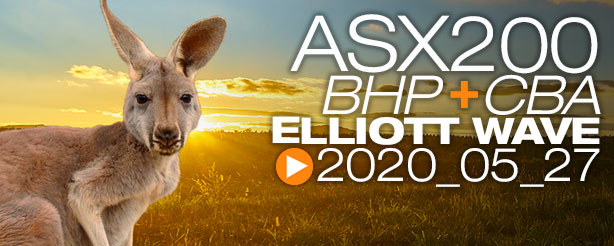 ASX200 XJO CFD Trading Elliott Wave 27 May 2020