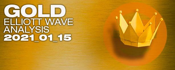 Gold Futures Elliott Wave Options CFDs 15 Jan 2021