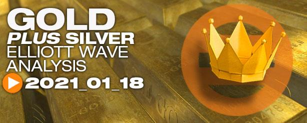 Gold Futures Elliott Wave Options CFDs 18 Jan 2021
