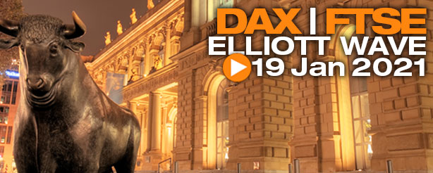 DAX 30, UK 100 Elliott Wave Technical Analysis 19 Jan TradingLounge