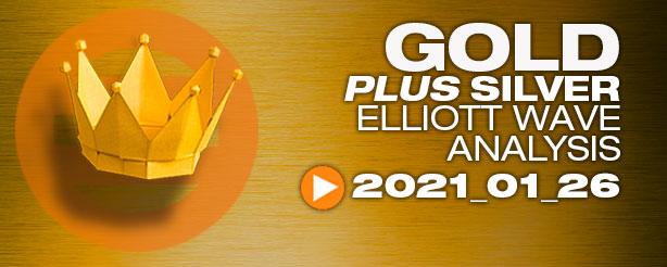 Gold Technical Analysis Elliott Wave 26 Jan
