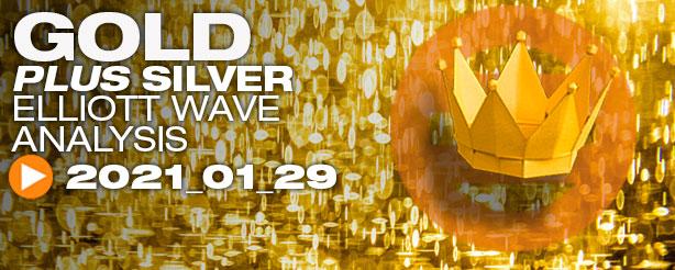 Gold Silver Technical Analysis Elliott Wave 29 Jan