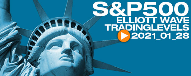 SP500, Nasdaq, AMZN, GOOG, AAPL, FB,SQ,TSLA, Technical Analysis Elliott Wave 28 Jan