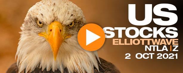 US Stock Trading - NTLA& ZillowTechnical Analysis Elliott Wave Forecast 2 Oct 2021