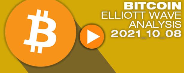 Bitcoin Technical Analysis Elliott Wave 8 Oct 2021