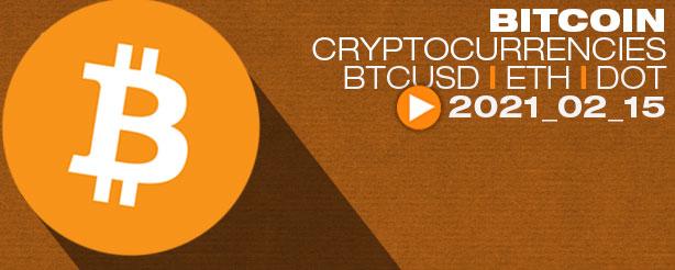 Bitcoin, Crypto Index, BTC, ETH, DOT, ADA, AAVE, GRT Elliott Wave Analysis 15 Feb