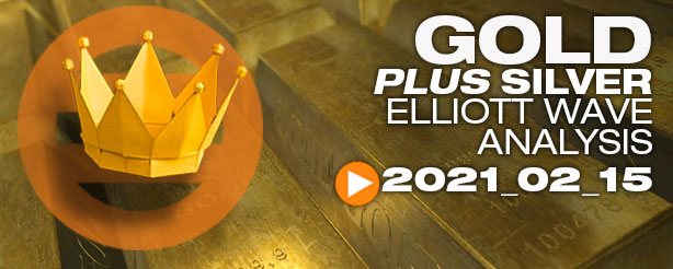 Gold Silver Technical Analysis Elliott Wave Trading 15 Feb