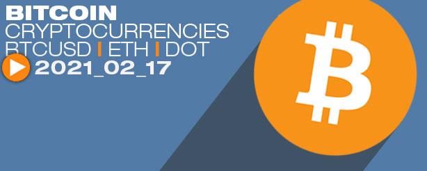 Bitcoin, BTC, ETH, DOT, ADA, AVAX, AAVE, GRT, XRP, Elliott Wave Technical Analysis 17 Feb 2021