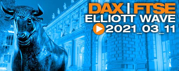 DAX 30, UK 100, Elliott Wave Technical Analysis 11 March 2021