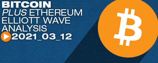 Bitcoin ETH, DOT, ADA,AVAX, AAVE, GRT, XRP Elliott Wave analysis 12 March