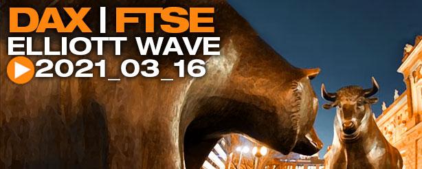 DAX 30 Elliott Wave Analysis 16 March