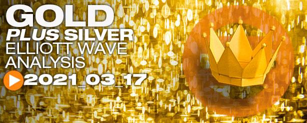Gold Elliott Wave 17 March 2021