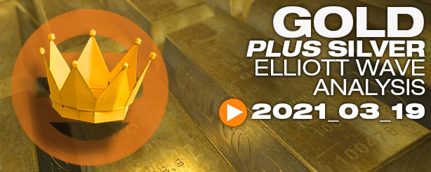 Gold Elliott Wave 19 March 2021