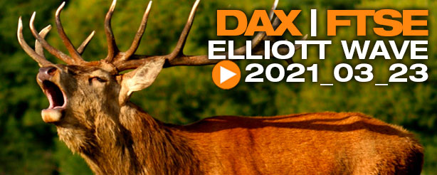 DAX 30 Elliott Wave Analysis, 23 March 2021