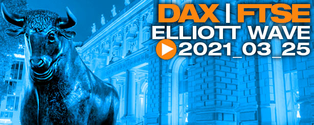 DAX 30 Elliott Wave Analysis, 25 March 2021