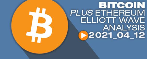 Bitcoin Elliott Wave Analysis, 12 April