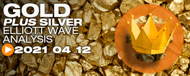 Gold XAU/USD Analysis Elliott Wave, 12 April