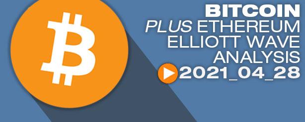 Bitcoin Elliott Wave Analysis, 28 April