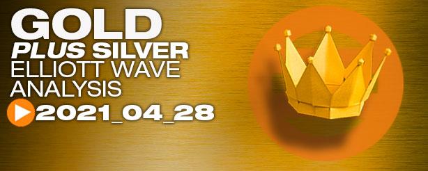 Gold Elliott Wave, 28 April